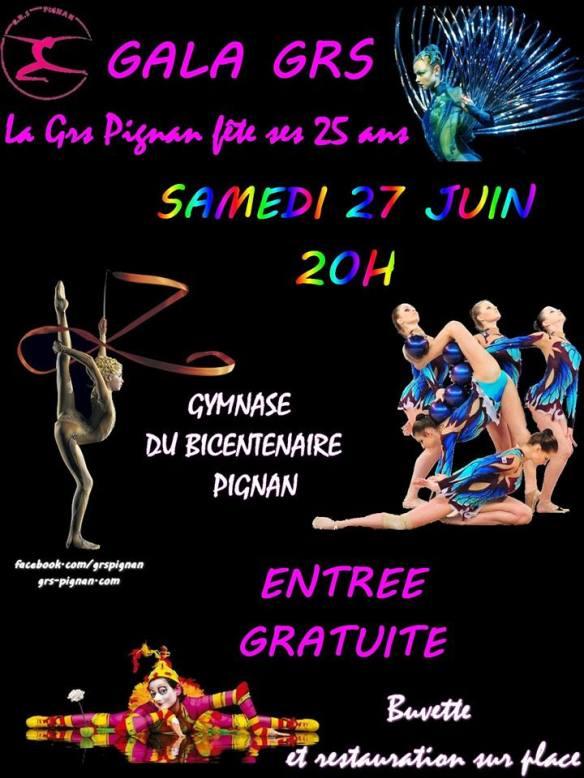 Gala de GRS Pignan 27 juin 2015